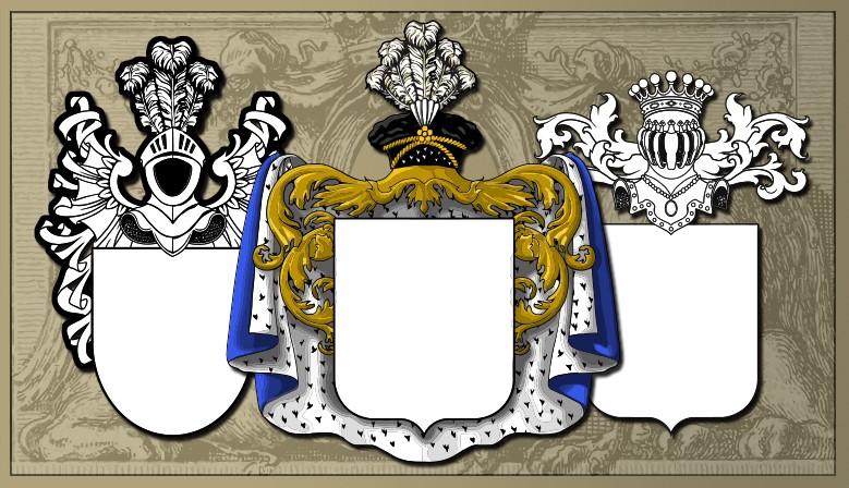 Banque d'images vectorisées spécialisée armoiries et blasons
